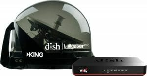 KING DTP4950 DISH Tailgater Pro Bundle - Premium Portable Mountable Satellite TV Antenna reviews and user guide