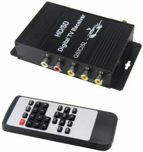 QSICISL HD Car Mobile TV Tuner reviews and user guide