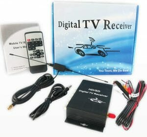 SZSS-CAR HD Car Digital TV Turner reviews and user guide