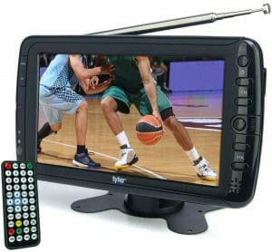 Tyler TTV701 7 Portable Widescreen LCD TV with Detachable Antennas reviews and user guide