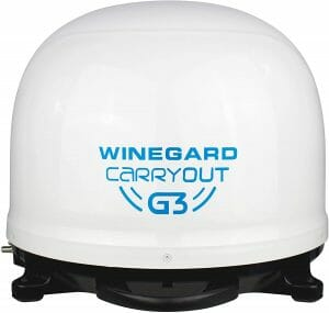 Winegard GM-9000 Carryout Automatic Satellite reviews and user guide