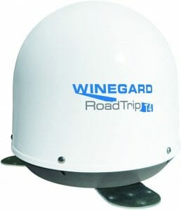 Winegard RT2000T Roadtrip T4 In-Motion RV Satellite Antenna reviews and user guide