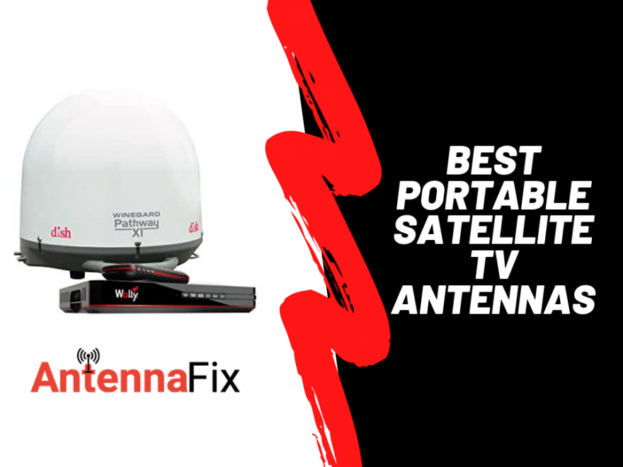 best portable satellite tv antennas
