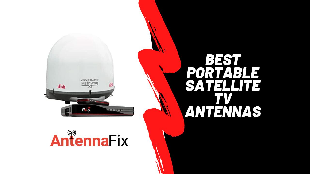 best portable satellite tv antennas