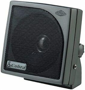 Cobra HG S500 Highgear CB Speaker reviews and user guide