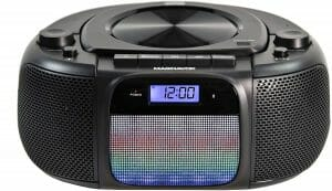 Magnavox MD6972 Portable Top Loading CD Boombox with Digital AM FM Stereo Radio reviews and user guide