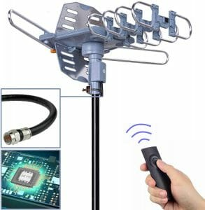 PBD Digital Outdoor TV Antenna reviews and user guide