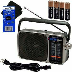 Panasonic Portable AM FM Radio reviews and user guide