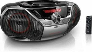 Philips Portable Boombox CD Player Bluetooth FM Radio reviews and user guide