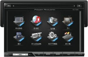 Soundstream VIR-7830B Single-Din Bluetooth Car Stereo DVD Player with 7-Inch LCD Touchscreen reviews and user guide