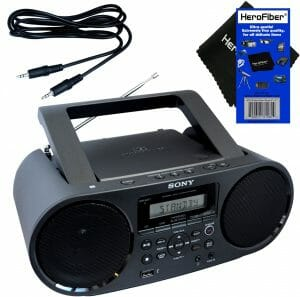 Sony Bluetooth & NFC (Near Field Communications) MP3 CD,CD-R,RW Portable MEGA BASS Stereo Boombox with Digital Radio reviews and user guide