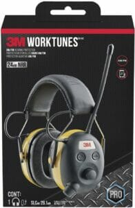 3M WorkTunes AM/FM Hearing Protector with Audio Assist Technology