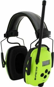 Howard Leight by Honeywell Sync Hi-Visibility Digital AM/FM Radio Earmuff