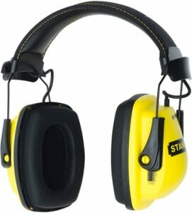 Stanley Sync Stereo Earmuff with MP3 Connection
